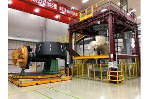 MTA 628 Hybrid Propulsion system in the factory (Photo: Caterpillar)