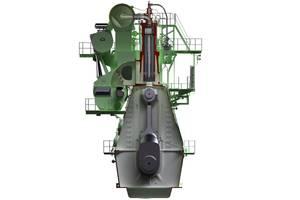 Illustration of the G80ME-C9 engine (Photo: MAN Diesel & Turbo)