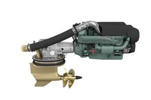 The new D8 and IPS15 package. (Photo: Volvo Penta)