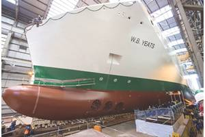 Launching of the W.B.Yeats at FSG. (Photo courtesy ©FSG)