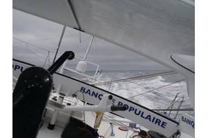 The Race Leader: Photo credit Vendee Globe