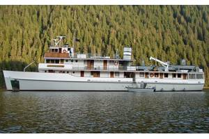 The V/V LISERON in Southeast Alaska. Courtesy of The Boat Company