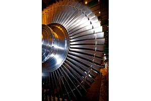 Nuclear steam turbine rotor (Photo: Alstrom)