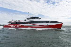 Red Jet 6 (Photo: Shemara Refit LLP)