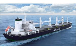 Pioneer Green Dolphin bulk carrier (Image: ABB)