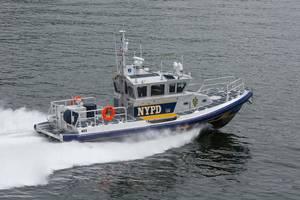 Police Boat (RB-M C): Photo credit John Fleck Photography