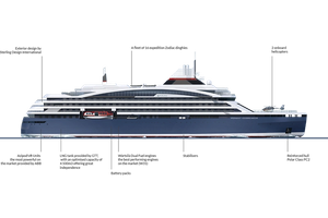PONANT Icebreaker Design (Photo:PONANT)