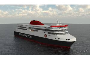 Rendering of the new IOMSP ferry Manxman (Image: IOMSP & Houlder)