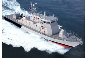 Rendering of the new patrol craft for the Royal Thai Navy (Image: Marsun)