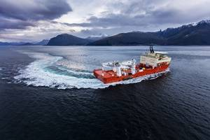 SCHOTTEL Combi Drives give Island Venture increased maneuverability for a wide range of different applications. (Photo: Ulstein Group/Marius Beck Dahle)