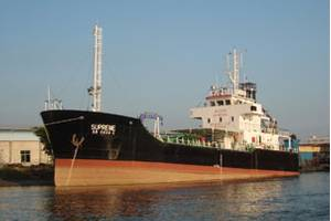 The 299 DWT Supreme. Photo Photos courtesy of Ocean Leader Shipyard