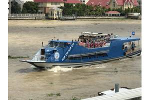 "The ""Hop On Hop Off"" tourist boat is now one of the best ways to see Bangkok. (Photo: Chao Phraya Express Boat Ltd.)"