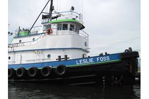 Tugboat Leslie Foss: Photo credit Marcon International