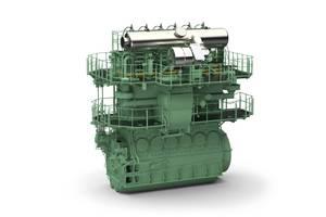 WinGD's X92DF engine. Image: WinGD