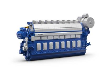 Six new 172,500 cbm LNG carrier vessels will be fitted with Wärtsilä 46DF dual-fuel engines, plus gas valve units and auxiliaries. (Image: Wärtsilä)