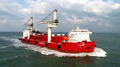 21,500-DWT transshipment bulker Alypso (Photo: ABB)