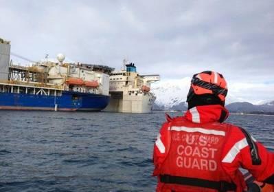 Alaska Lifting Operation: Photo courtesy of USCG