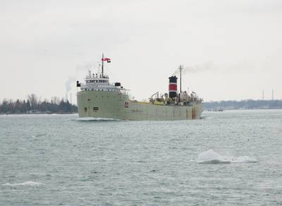 SS Alpena: Photo credit Great Lakes Shipyard