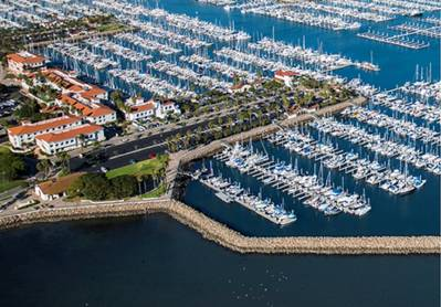 The Port of Los Angeles Marina (photo courtesy of the Port of Los Angeles)