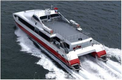 Azurtane technology has helped ferry company Red Funnel cut fuel consumption by up to 15 percent per day. (Photo: Azurtane)