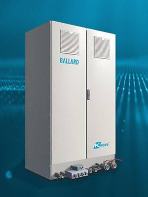 Ballard's FCwaveTM fuel cell module provides megawatts of power for marine vessels, in 200-kilowatt increments (CNW Group/Ballard Power Systems Inc.)