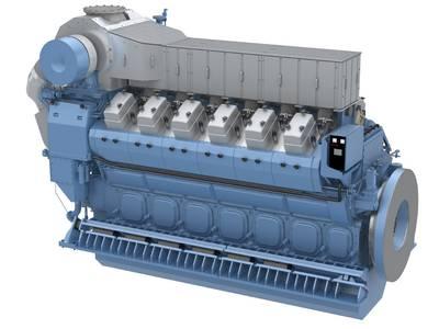 Bergen B32:40V12ACD engine Rolls-Royce