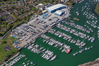 Berthon UK headquarters in Lymington (Photo: Cox Powertrain)