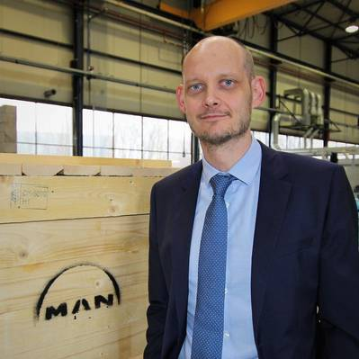 Christian Ludwig, Head of PrimeServ Omnicare at MAN Energy Solutions (Photo courtesy of MAN Energy Solutions)