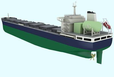 'Clean Sky' bulk carrier: Image credit LR
