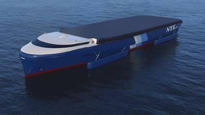 The conceptual NYK EcoShip (CREDIT: NYK)