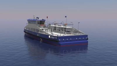 Corvus Energy batteries will be installed on the five all-electric ferries being built for GVB at Holland Shipyards Group in the Netherlands / Credit: Corvus Energy