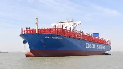COSCO Shipping Universe (Photo courtesy ABB)