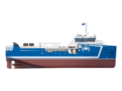 Ten new crab-catching vessels for the Russian crab catching companies Antey, Merlion and Aqvainvest will be propelled by Schottel.