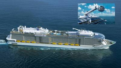 Cruise liner Quantum lll: Design image courtesy of Meyer Werft