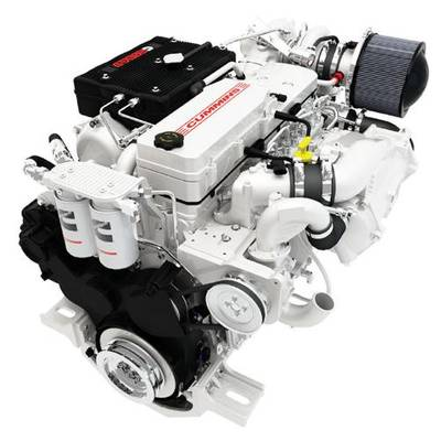 Cummins Marine Diesel: Image courtesy of Konrad Marine
