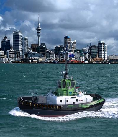 Damen RSD-E Tug 2513 artist impression (Photo courtesy of Damen)