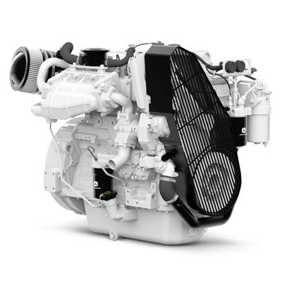 John Deere Power Systems is shipping the new PowerTech 4045SFM85 marine engine to boat owners and builders. Photo: John Deere Power Systems