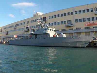 OPV P61 was delivered to the Armed Forces of Malta with a new main propulsion plant and other machinery and equipment (Photo: Fincantieri)