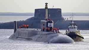 SSBN 'Yury Dolgoruky': Photo credit Russian Navy