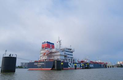 During the coming weeks, MR tanker Stena Immortal will run on 100% biofuel (Photo: Stena Bulk)