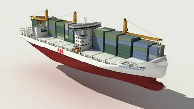 fuel efficient 2000 TEU Container Feeder Vessel