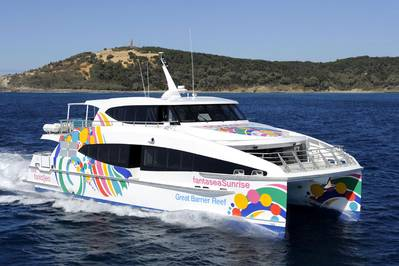 24M Catamaran Ferry Delivered By Incat Crowther