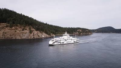 BC Ferries' Salish Class vessels feature Wärtsilä's integrated propulsion system with LNG fueled Wärtsilä engines.(Photo: BC Ferries)