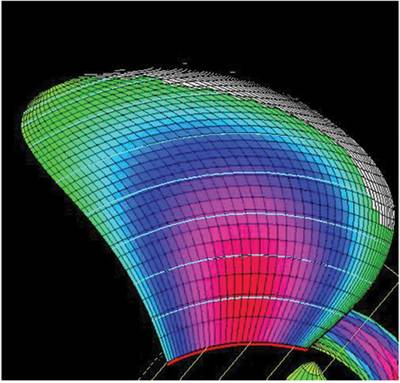 Figure 3: Propeller cavitation simulation modelling. Source: BC Ferries