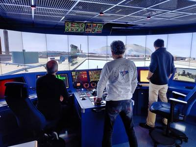First to complete the Blended Learning program was the crew for PONANT's new vessel, Le Commandant Charcot (Photo: ABB)