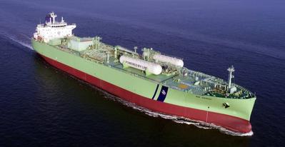 BW Gemini is the world's first VLGC to run on LPG fuel. (Photo: BW LPG)