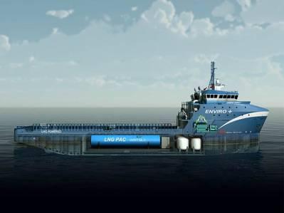 M/V Harvey Energy Image courtesy of Harvey Gulf International Marine)