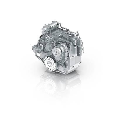 ZF 5200 A/V PTI Hybrid Transmission (Image: ZF)