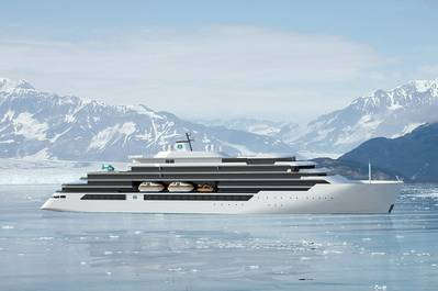 The new and innovative expedition mega yacht, owned by Genting Hong Kong, will be powered by Wärtsilä engines combined with NOR systems. (Photo: Wärtsilä)