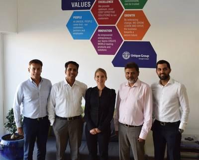 Kamelia Cleantech, A Unique Group Company, Executive Team (Photo: Unique Group)_